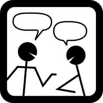 スピーキング、会話、話す
