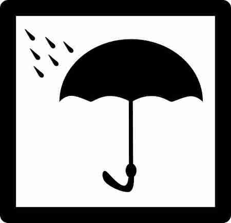 雨から守る