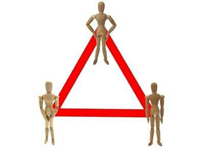 浮気三角関係