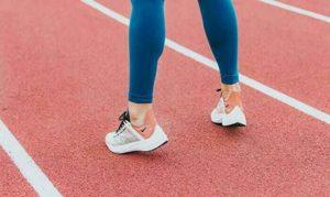 アスリートの足