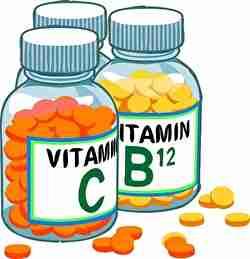 薬、ビタミン、ボトル