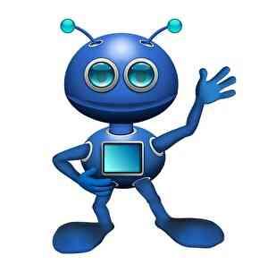 宇宙人のロボット