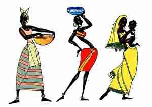 アフリカ女性