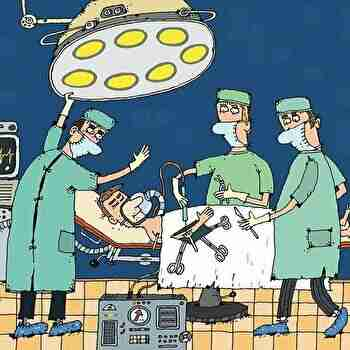手術、医者