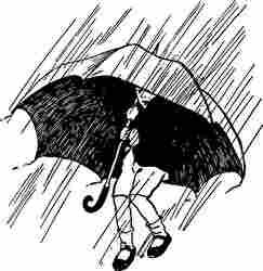 雨、土砂降り