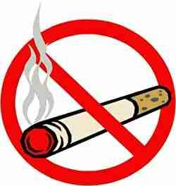 禁止、タバコ