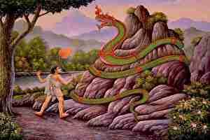 大蛇、神話