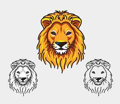 特定のライオン