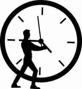 時計を動かす人