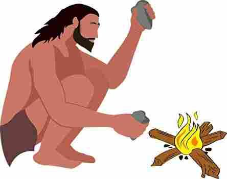 石器時代の人