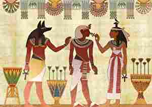 太古のエジプト人