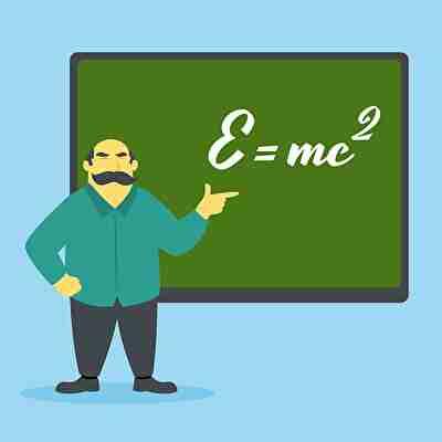 数学を教える先生